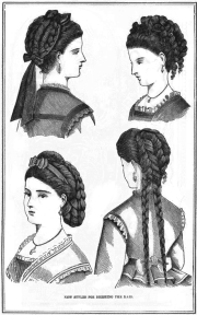 hottest hairstyles 1870