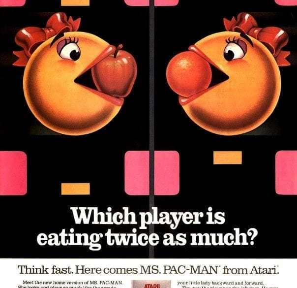 Say Hello To Ms Pac Man 1982 1983 Click Americana