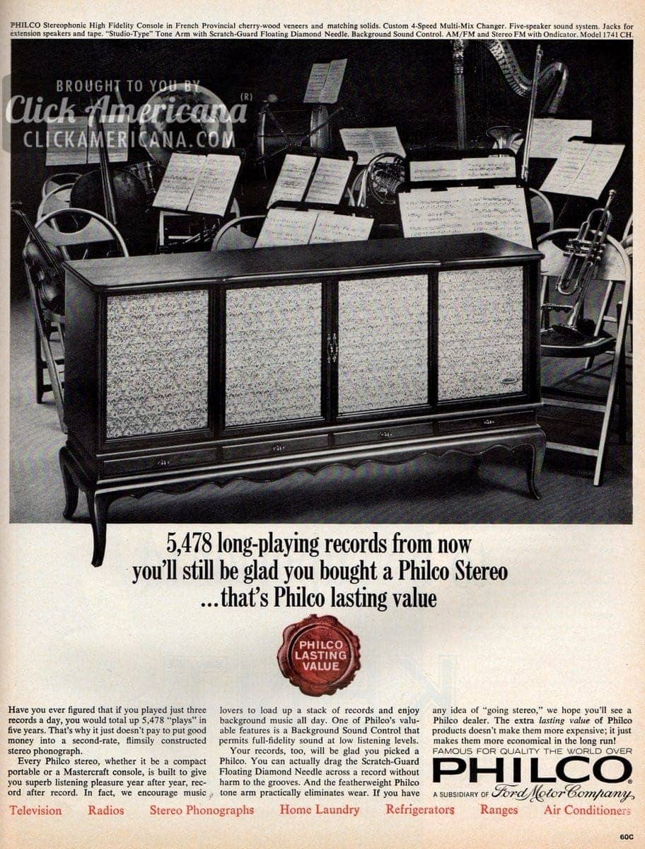 1960s, Entertainment, Home U0026 Garden, Music, Science U0026 Technology, Vintage  Advertisements