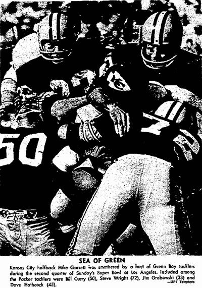 Super Bowl I Green Bay Blasts KC 1967 Click Americana