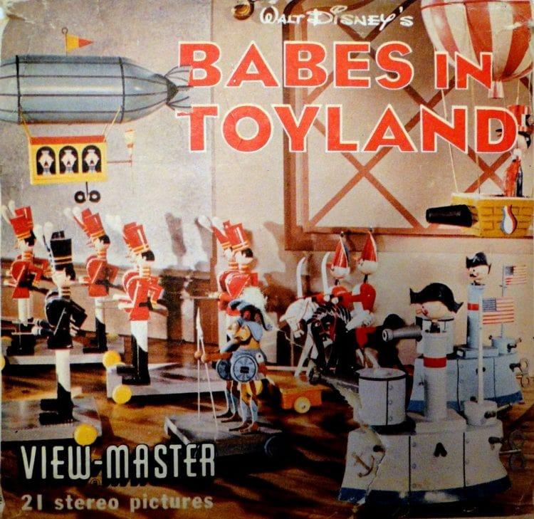 >Walt Disney's Babes in Toyland Vintage View-Master reels