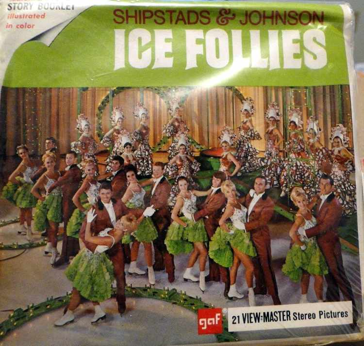 Vintage View-Master reels - Ice Follies ice skating