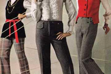 Vintage pantsuits - women wearing pants