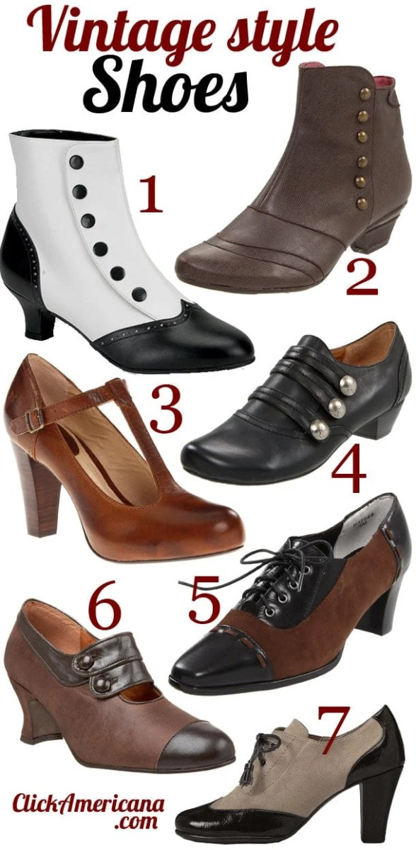 Vintage & retro-style shoes you can get now