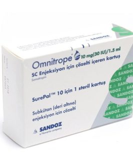 Omnitrope 10 mg 30 IU