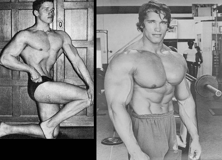 arnold-before-after-dianabol-use
