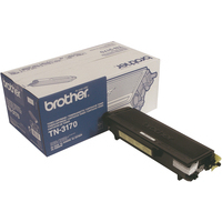 Brother TN3170 Toner Cartridge Black TN-3170-0