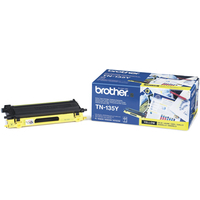 Brother TN135Y Toner Cartridge Yellow TN-135Y-0