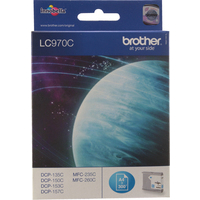 Brother LC970C Ink Cartridges Cyan LC-970C-0