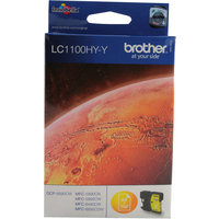 Brother LC1100HYY Ink Cartridges Yellow LC-1100HYY-0