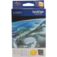 Brother LC985Y Ink Cartridge Yellow LC-985Y-0