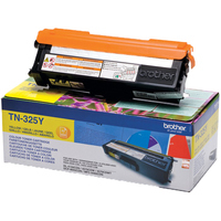 Brother TN325 Toner Cartridge High Capacity Yellow TN325Y-0