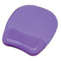 Fellowes Crystal Gel Mouse Pad Purple 9144103-0