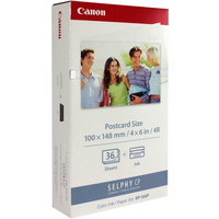 Canon Selphy KP-36IP Colour Ink Cartridge and Photo Paper Pack-0