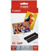 Canon Selphy KC-36IP Colour Ink Cartridge and Photo Paper Pack-0