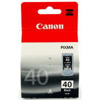 Canon PG-40 Ink Cartridge Black PG40 0615B001-0