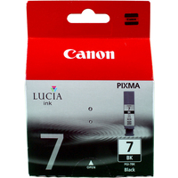 Canon PGI-7 Ink Cartridge Black PGI7 PGI7BK 2444B001-0