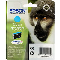 Epson T0892 Ink Cartridge Cyan C13T089240-0