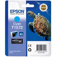 Epson Stylus Photo T1572 Ink Cartridge Cyan C13T15724010-0