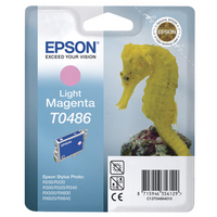 Epson T0486 Ink Cartridge Light Magenta C13T048640-0
