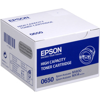 Epson AcuLaser C13S050650 Toner Cartridge High Yield Black -0