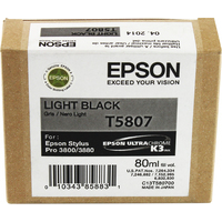 Epson T5807 Ink Cartridge Light Black C13T580700-0