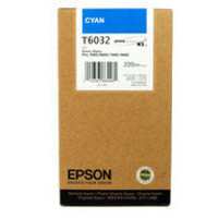 Epson T6032 Ink Cartridge Cyan C13T603200 High Capacity-0