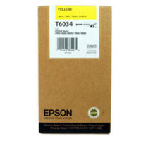 Epson T6034 Ink Cartridge Yellow C13T603400 High Capacity-0