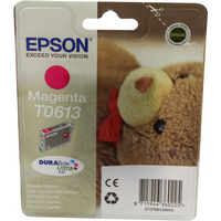 Epson T0613 Ink Cartridge Magenta C13T061340-0