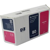 HP C4847A Ink Cartridge Magenta HPC4847A 80 350ml-0