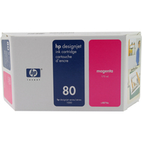 HP C4874A Ink Cartridge Magenta HPC4874A 80 175ml-0