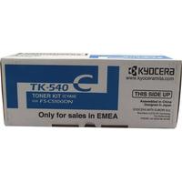 Kyocera TK-540C Toner Cartridge Cyan TK540C 1T02HLCEU0-0