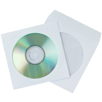 Q-Connect CD Envelope Paper Pack of 50 KF02206-0