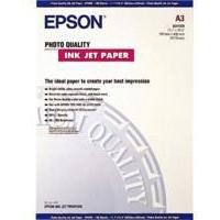 Epson Photo Quality Inkjet Paper A3 720dpi Pk100 C13S041068-0