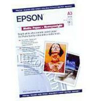 Epson Matt Photo Paper Heavyweight A3 Pk50 C13S041261-0