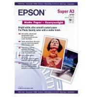 Epson Matt Photo Paper Heavyweight A3+ Pk50 C13S041264-0