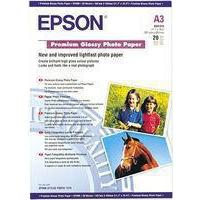 Epson Premium Glossy Photo Paper A3 Pk20 C13S041315-0