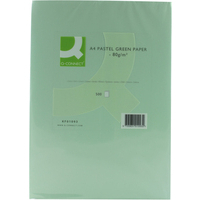 Q-Connect Coloured Copier Paper A4 80gsm Green Pk500-0