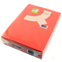 Q-Connect Coloured Copier Paper A4 80gsm Bright Red Pk500-0