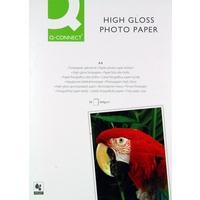 Q-Connect A4 High Gloss Photo Paper 260gsm Pk50 KF02772-0