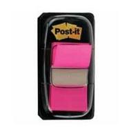 3M Post-it Index Tab 25mm Bright Pink 680-21-0