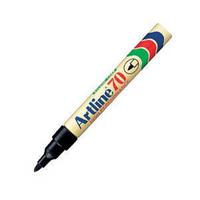 Artline 70 Marker Bullet Tip Black A701-0