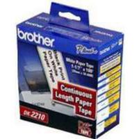 Brother QL Labels DK-22210 Continuous Paper Tape 29mm DK22210 30m-0