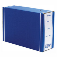 R-Kive Transfer Files Premium Blue/White Fellowes 00059-FF Pk10-0