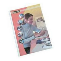 Fellowes Thermal Binding Covers A4 3mm White Gloss 53152 Pk100-0