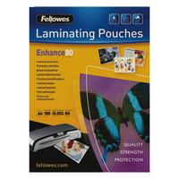 Fellowes Laminating Pouch A4 160micron Enhance 53962-0
