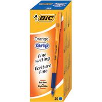 Bic Orange Grip Ball Point Pen Blue 811926-0