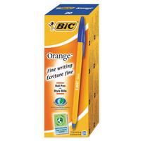 Bic Orange Fine Ball Point Pen Blue Pk20 1199110111-0