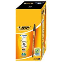 Bic Cristal Pen Fine Black Pk50 872731-0