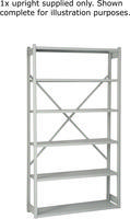 Bisley Shelving Extension Kit W1000 x D300mm Grey 1018ESEXK30-AT4-0